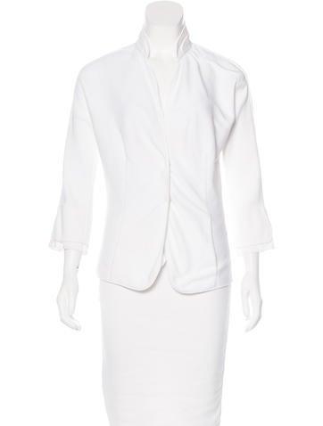 Brunello Cucinelli Button-Up Knit Jacket None