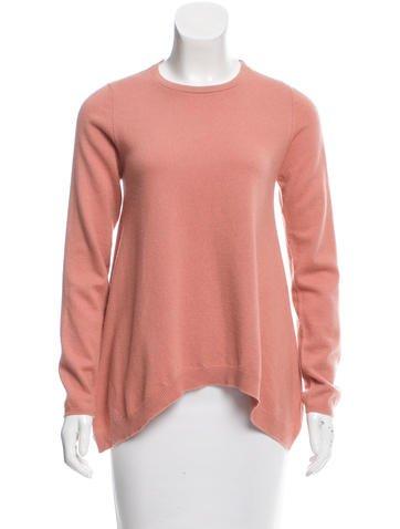 Brunello Cucinelli High-Low Cashmere Sweater None