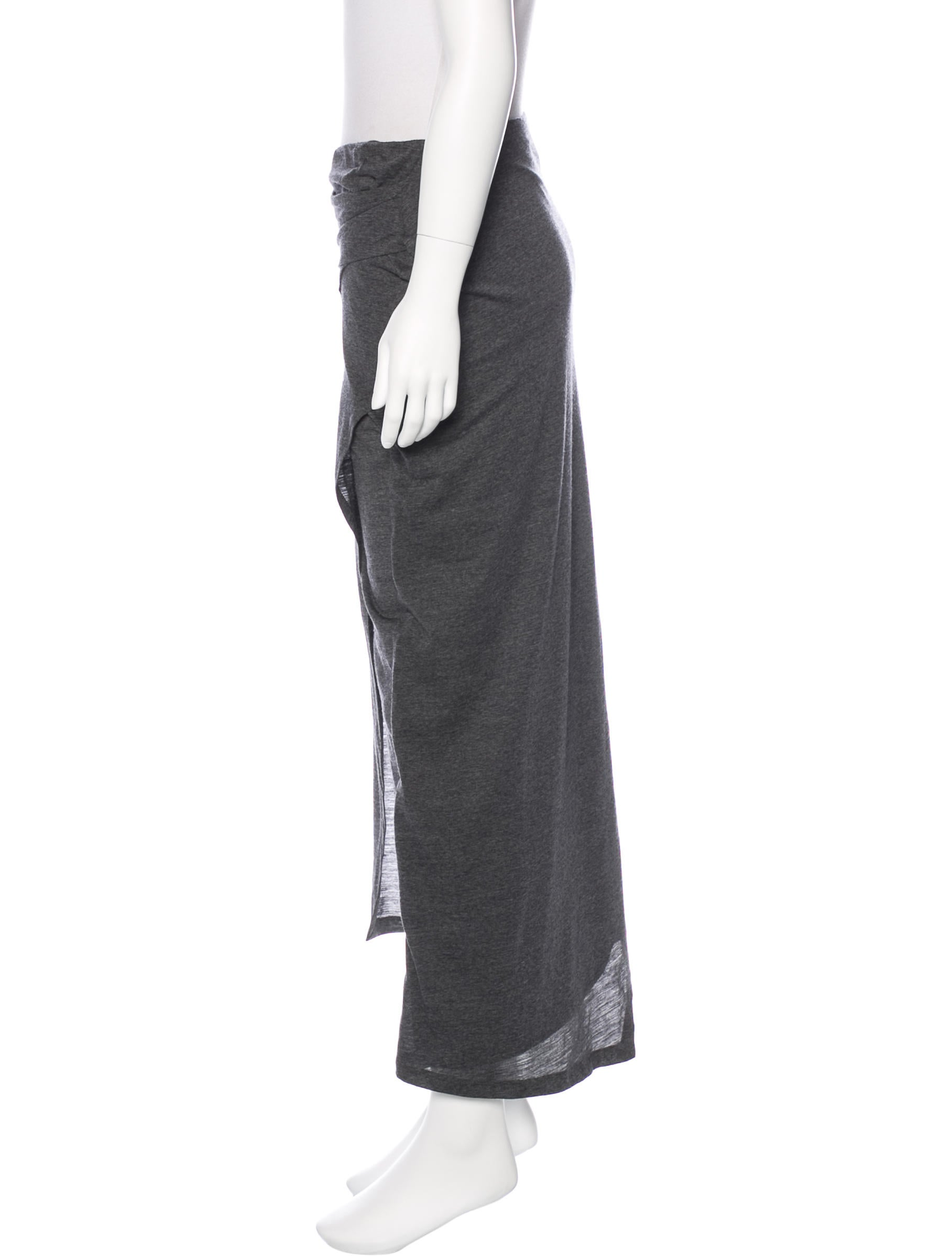 brunello cucinelli draped maxi skirt clothing bru44532