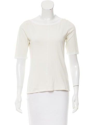 Brunello Cucinelli Silk Short Sleeve Top None