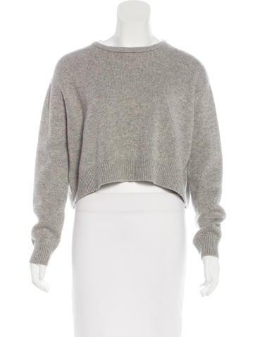 Brunello Cucinelli Cashmere Cropped Sweater None