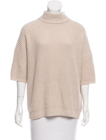 Brunello Cucinelli Rib Knit Cashmere Sweater w/ Tags None