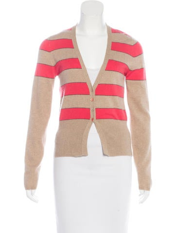 Brunello Cucinelli Cashmere Striped Cardigan None