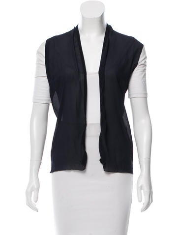 Brunello Cucinelli Chiffon Lightweight Vest None
