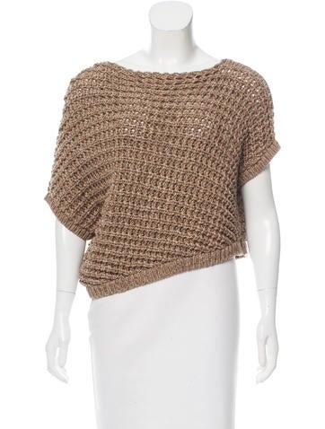 Brunello Cucinelli Casual Short Sleeve Sweater None