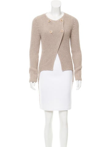 Brunello Cucinelli High-Low Knit Cardigan None