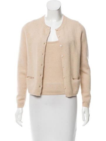 Brunello Cucinelli Embellished Cashmere Cardigan Set None