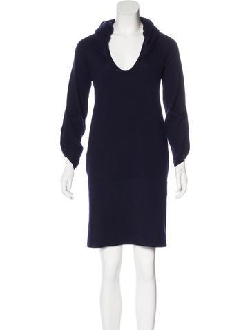 Brunello Cucinelli Cashmere Sequined Dress None