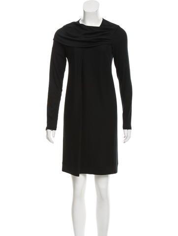 Brunello Cucinelli Draped Sweater Dress None