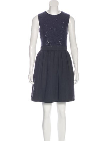 Brunello Cucinelli Cashmere Sleeveless Dress w/ Tags None