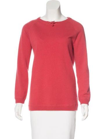 Brunello Cucinelli Cashmere Monili-Trimmed Sweater w/ Tags None