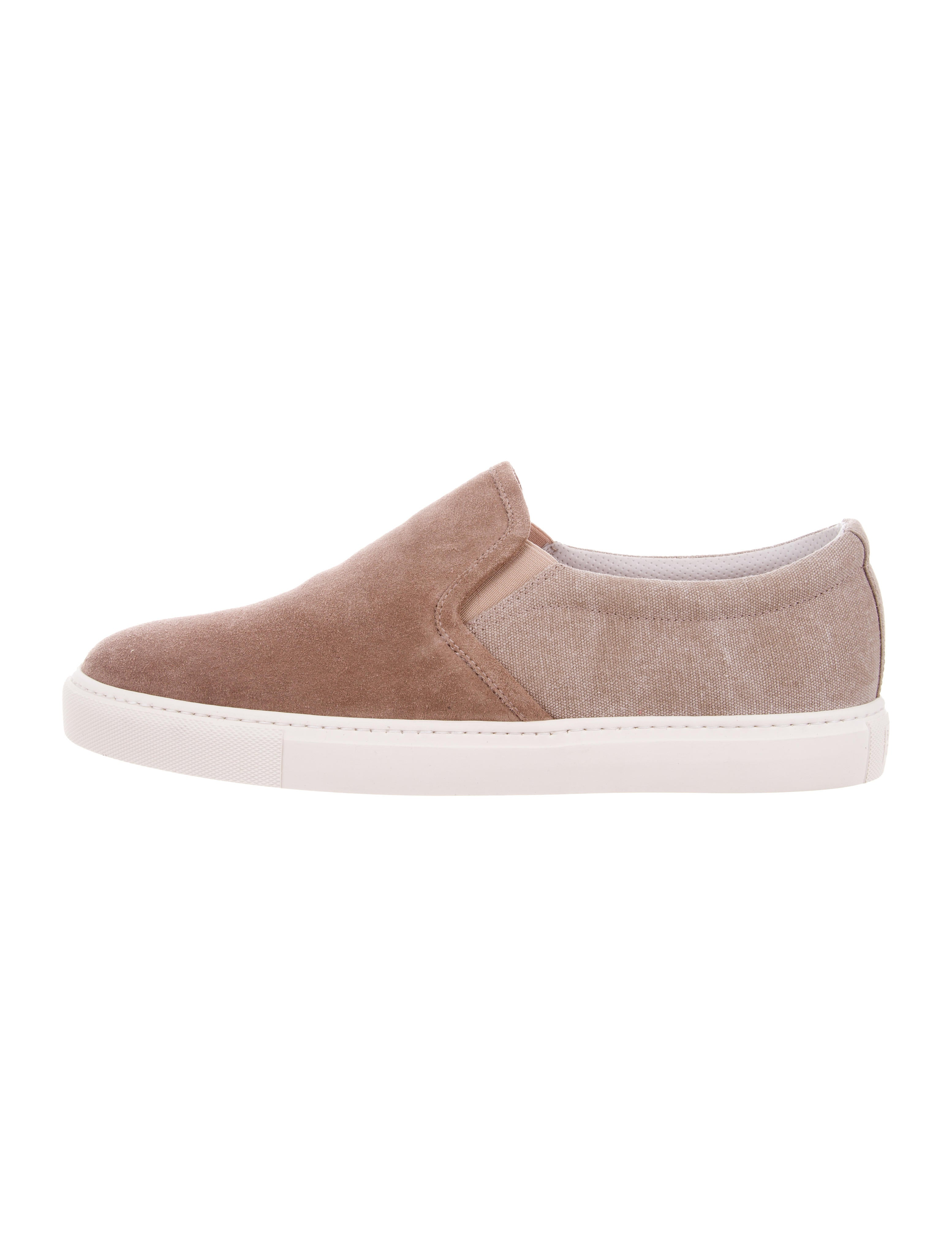 Brunello Cucinelli Suede Slip-On Sneakers pay with visa cheap price QqD89eB7