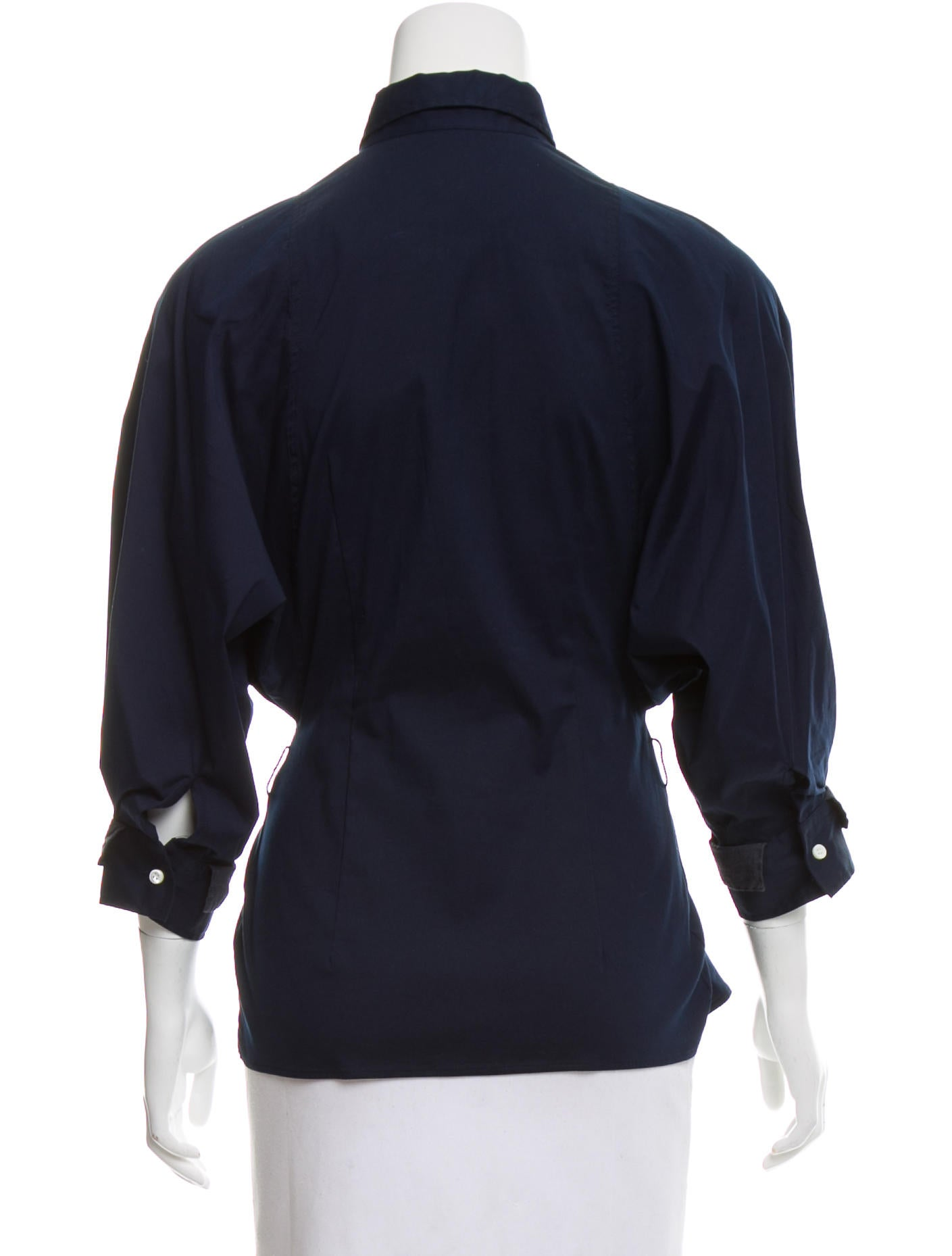 Brunello Cucinelli Fitted Button Up Top Clothing