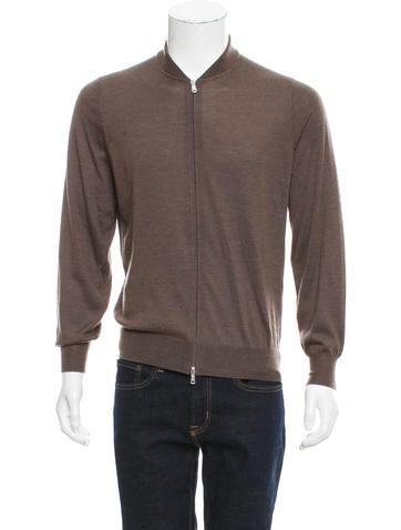 Brunello Cucinelli Cashmere Zip-Up Sweater w/ Tags None