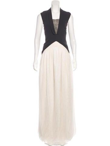 Brunello Cucinelli Monili-Accented Silk Dress w/ Tags None