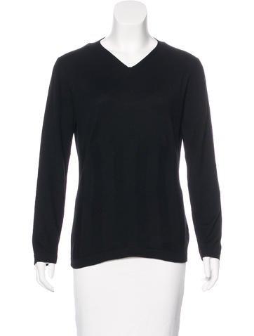 Brunello Cucinelli Cashmere & Silk-Blend Knit Sweater None