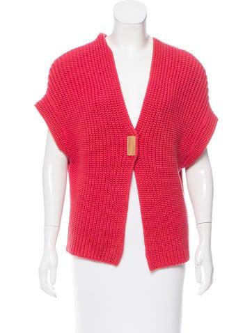 Brunello Cucinelli Cap Sleeve Rib Knit Cardigan None