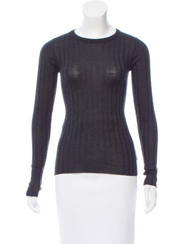 Brunello Cucinelli Cashmere Rib Knit Sweater None