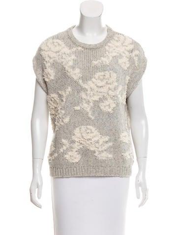 Brunello Cucinelli Textured Knit Top None