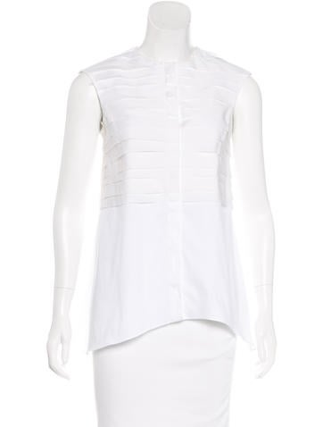 Brunello Cucinelli Tiered Button-Up Top None