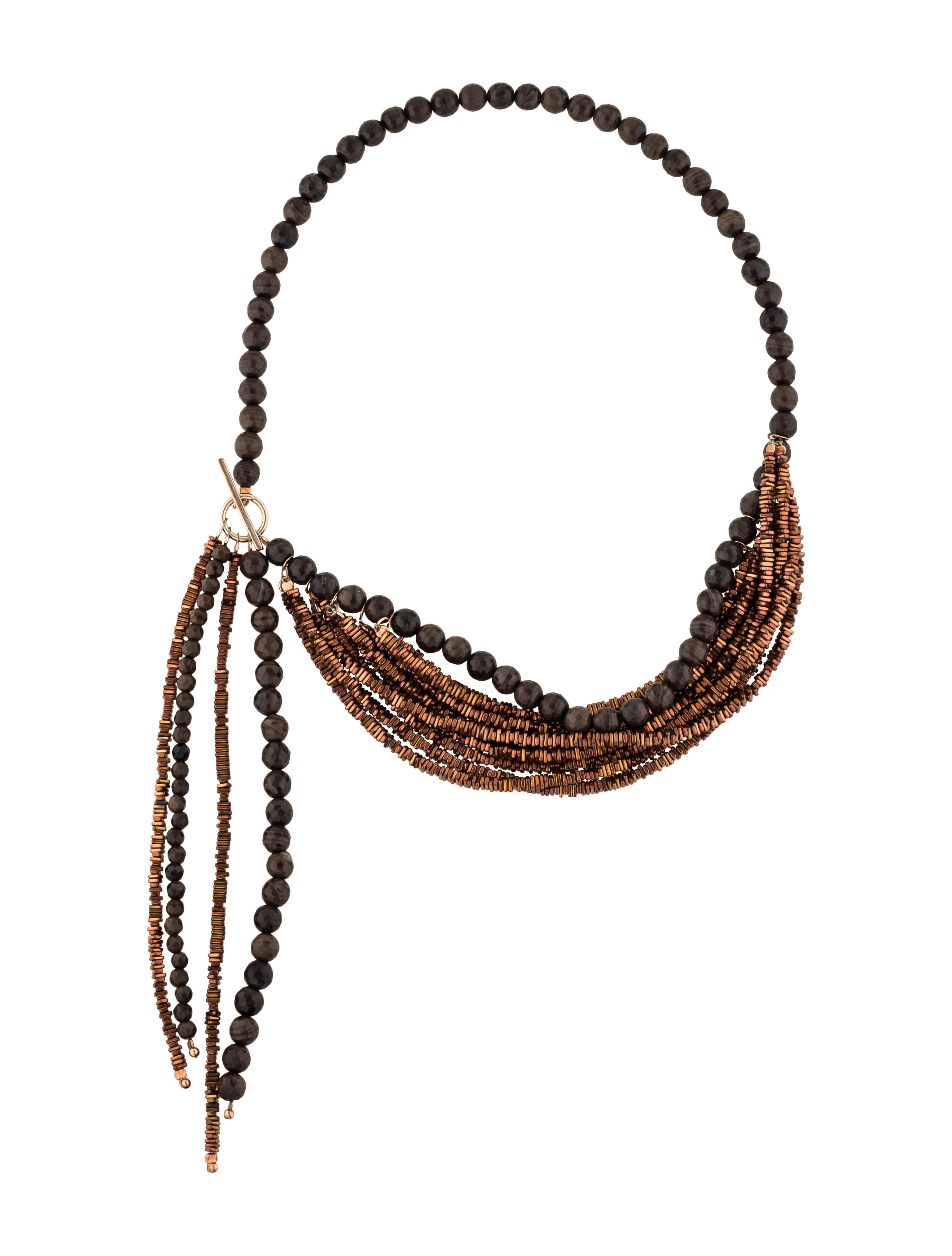Zimmermann Metal Bead Collar in Metallics EyE3hTg