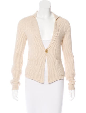 Brunello Cucinelli Cashmere Rib Knit Cardigan None