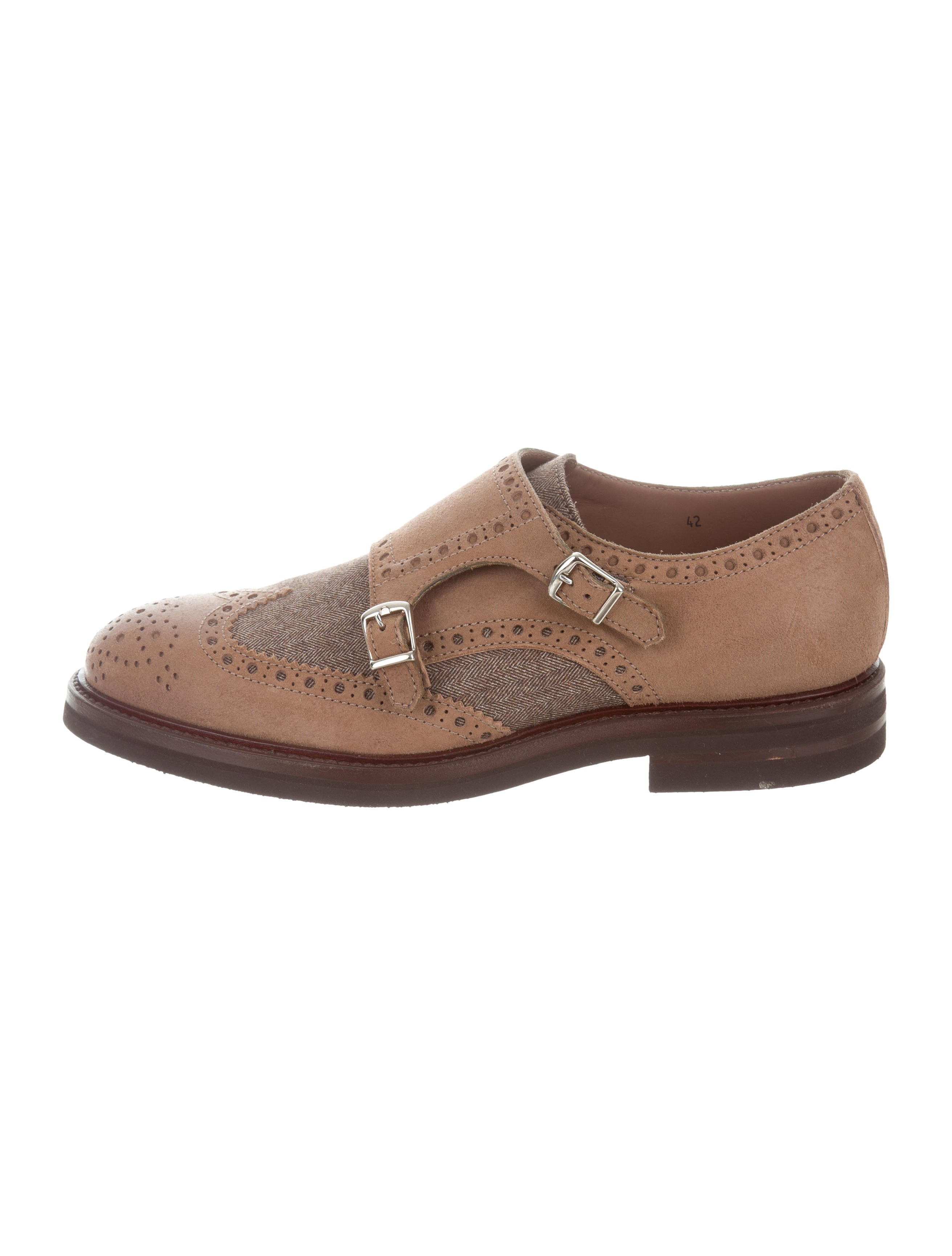 Men's monk shoes are a classic shoe closed by decorative metal buckles. They are single strap monks with only one leather strap and a buckle and the double strap monks with two straps and buckles. They are single strap monks with only one leather strap and a buckle and the double strap monks with two straps and buckles.