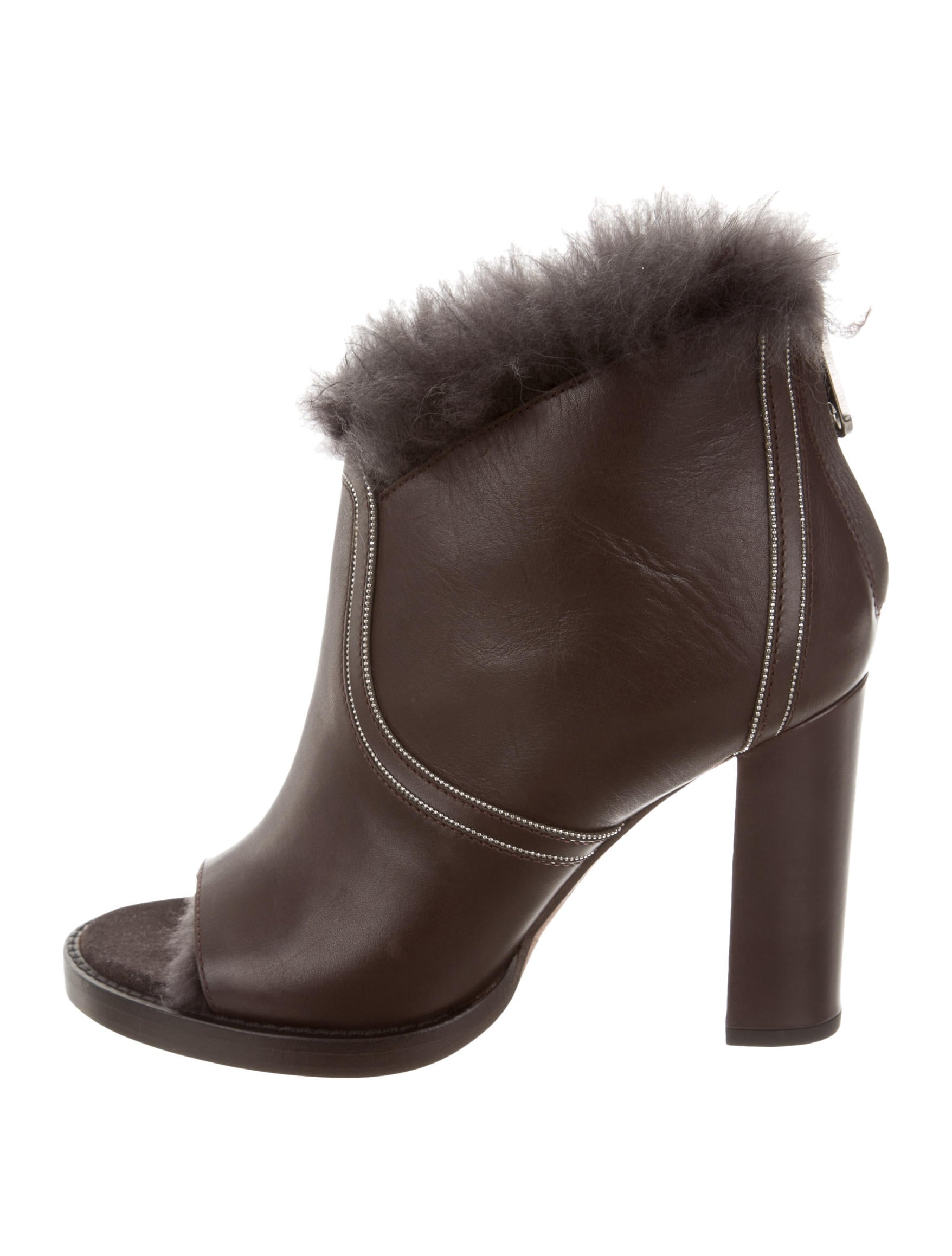 outlet with paypal order online Brunello Cucinelli Leather Buckle Ankle Boots discount Cheapest cheap price discount authentic free shipping sale cs3r6r8bg1
