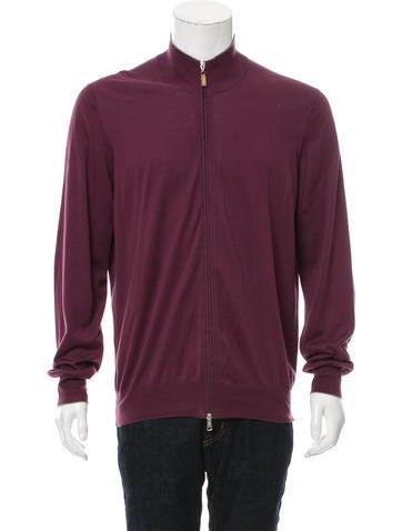 Brunello Cucinelli Rib Knit Zip-Front Sweater None