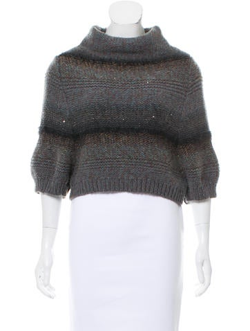 Brunello Cucinelli Cashmere Embellished Sweater None