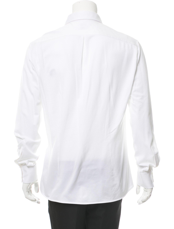 Brunello cucinelli cutaway collar button up shirt for White cutaway collar shirt