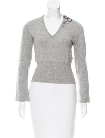Brunello Cucinelli Cashmere Long Sleeve Top None