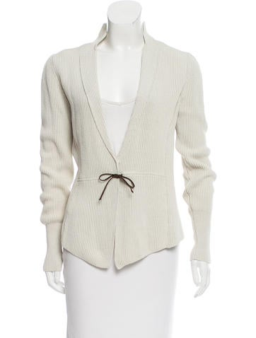 Brunello Cucinelli Rib Knit Linen-Blend Sweater None