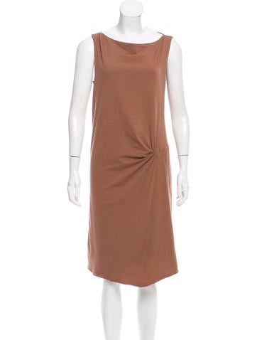 Brunello Cucinelli Sleeveless Knee-Length Dress w/ Tags None