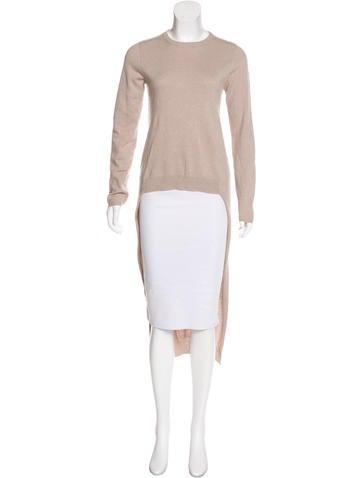 Brunello Cucinelli Cashmere Suede-Accented Sweater None