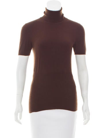 Brunello Cucinelli Cashmere Short Sleeve Top None