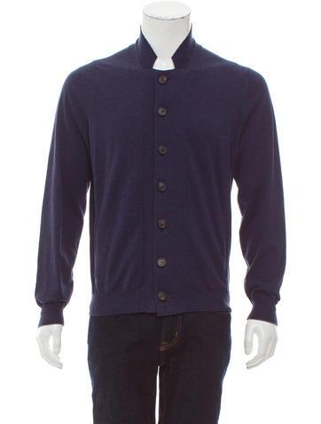 Brunello Cucinelli Knit Button-Up Cardigan w/ Tags None