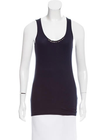Brunello Cucinelli Sleeveless Ribbed Top None