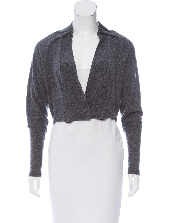 Brunello Cucinelli Cropped Cashmere Cardigan - Clothing - BRU50611 ...