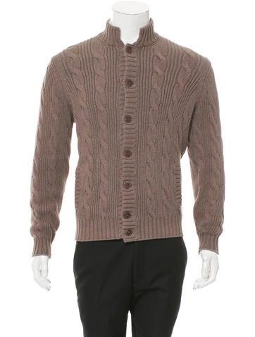 Brunello Cucinelli Rib-Knit Cardigan None