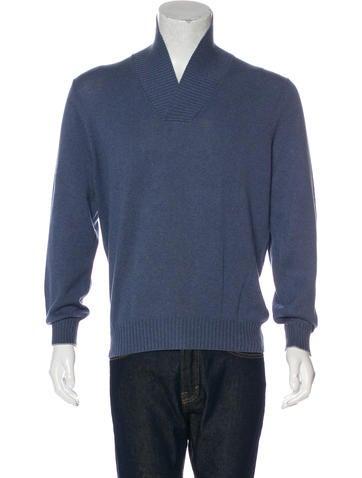 Brunello Cucinelli Shawl Knit Sweater None
