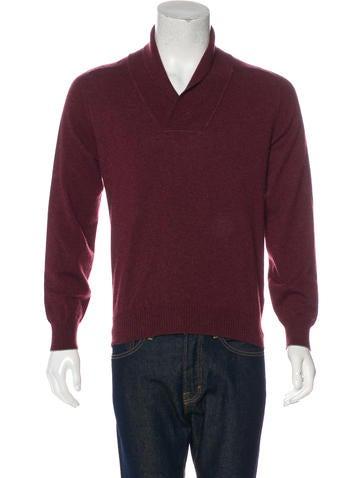Brunello Cucinelli Cashmere Shawl Sweater None