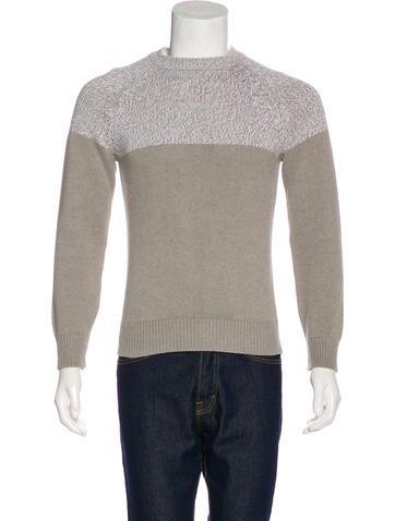 Brunello Cucinelli Colorblock Knit Sweater None