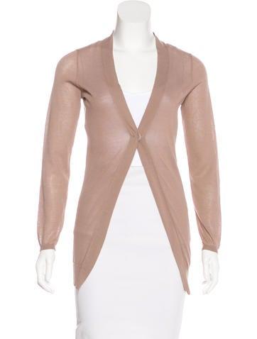 Brunello Cucinelli Semi-Sheer Knit Cardigan None
