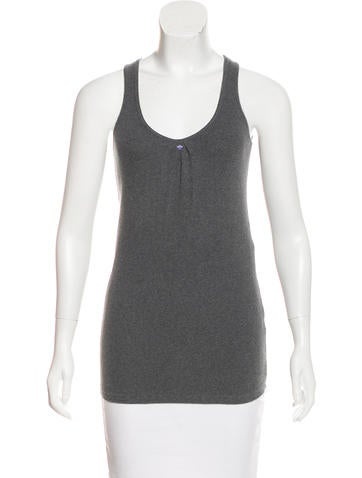 Brunello Cucinelli Sleeveless Knit Top None