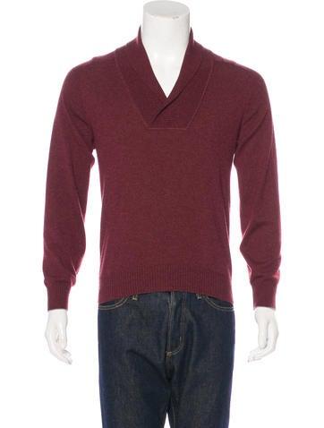 Brunello Cucinelli Shawl Collar Cashmere Sweater None