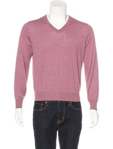 Brunello Cucinelli V-Neck Sweater None