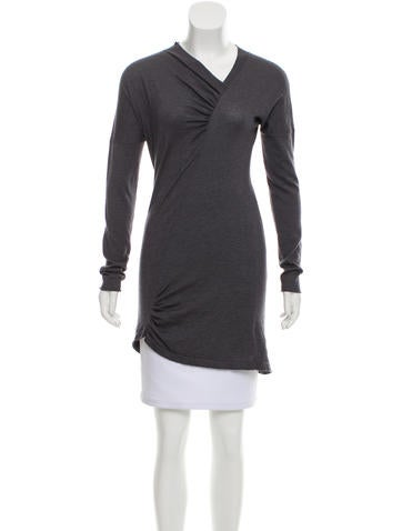 Brunello Cucinelli Ruched Cashmere Sweater None