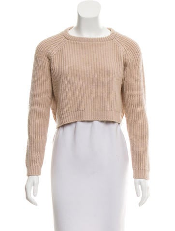 Brunello Cucinelli Cashmere Crop Sweater None