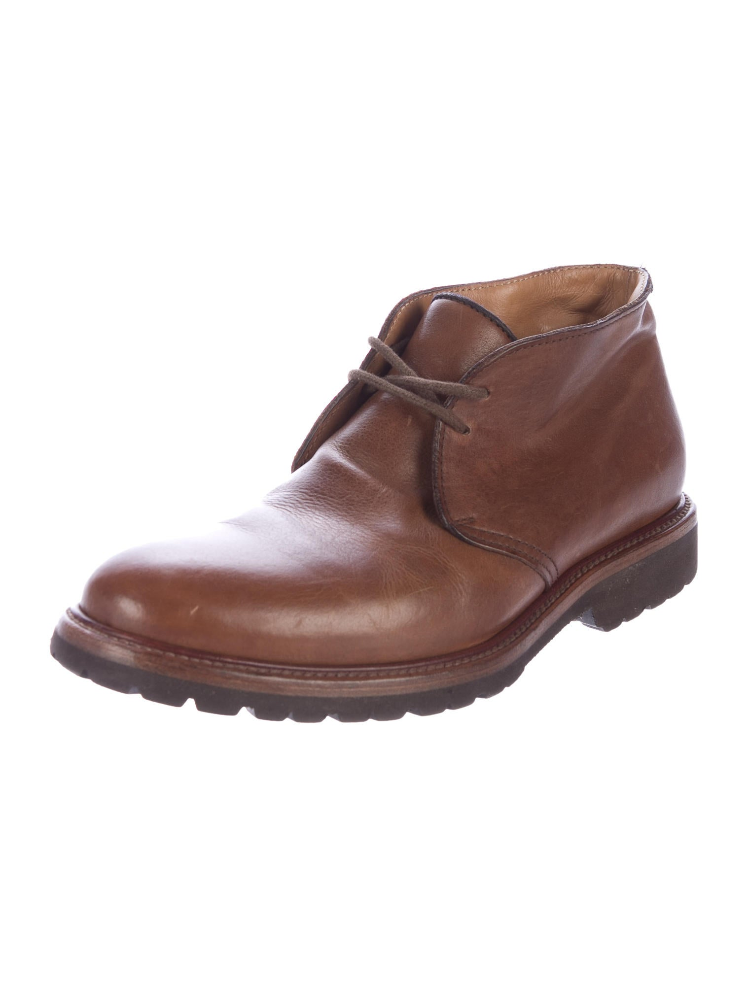 brunello cucinelli leather chukka boots shoes bru51848